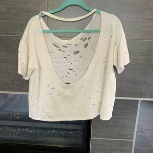 Gilded Intent Tops - Fashion cut T-shirt